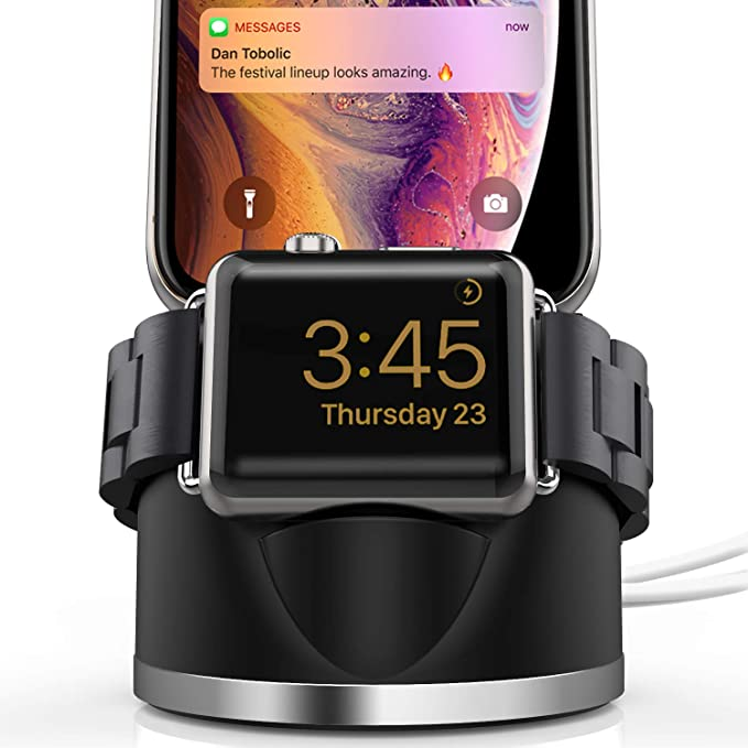 7bdcf01cd933 Amazon.com  OLEBR Charging Stand for Apple Watch 4