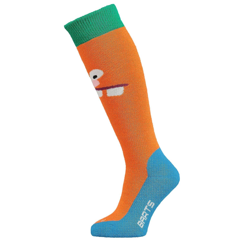Barts Basic Ski & Board Socks - Childrens - Crazy Orange - 9-12 UK [27-30 EUR]