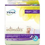 TENA Overnight Underwear, X-Large, 12 Count