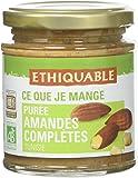 Ethiquable Purée d'Amandes Complètes Tunisie Bio/Équitable 170 g - Lot de 2