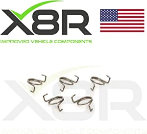 X8R DOOR LOCK LATCH REPAIR KIT SPRINGS SET COMPATIBLE WITH LAND ROVER DISCOVERY 1 1989-1998 / RANGE ROVER CLASSIC 1970-1995, PART # X8R10 / X8R0010