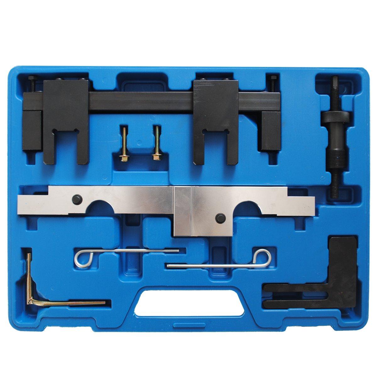 CCLIFE Nockenwellen Arretierwerkzeug Einstellwerkzeug N43 116i 118i 316i 318i 320i 520i B16//20