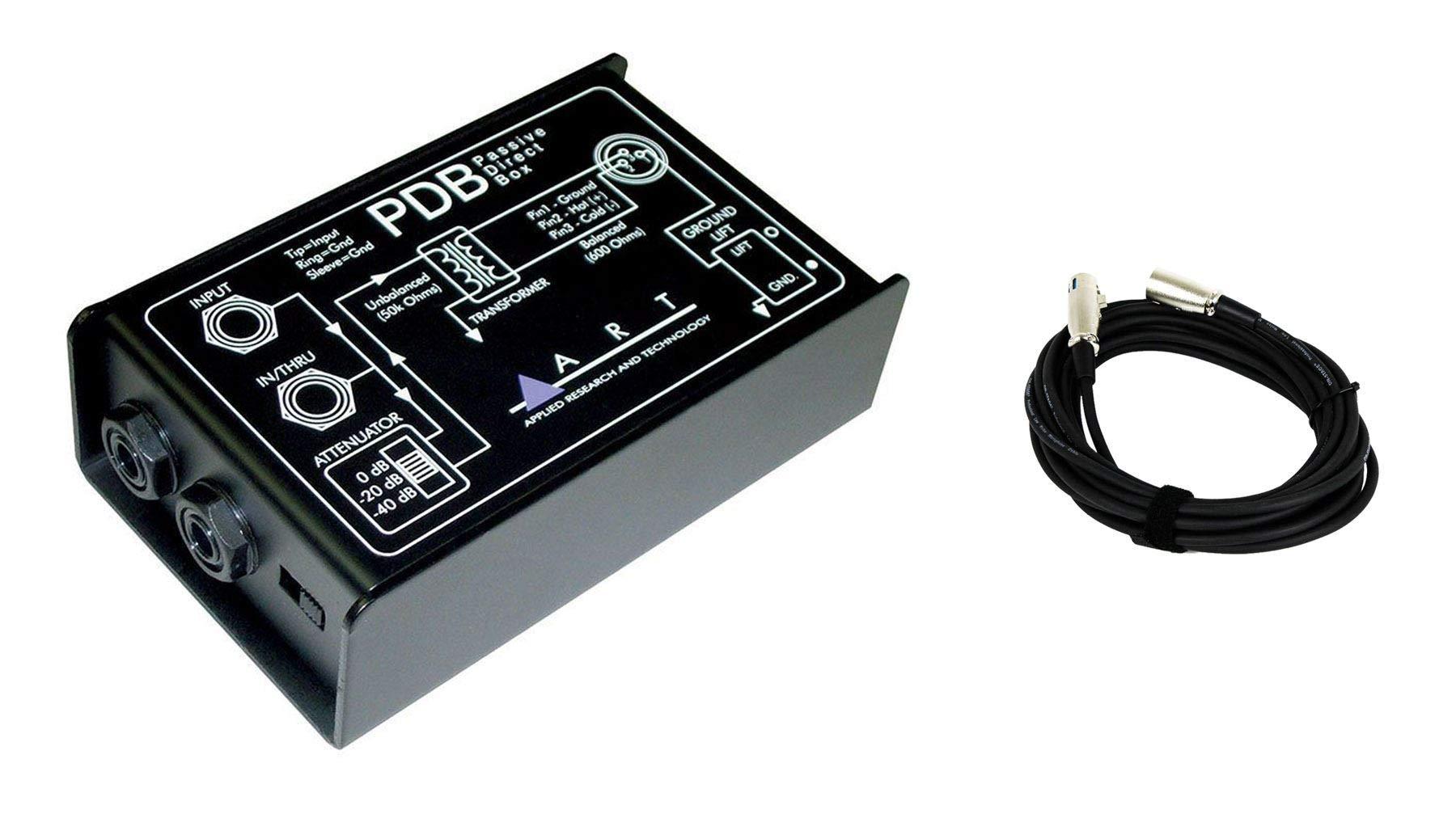 ART PDB Passive Direct Box Bundle with Bonus XLR Cable (2 Items) by ART (Image #1)