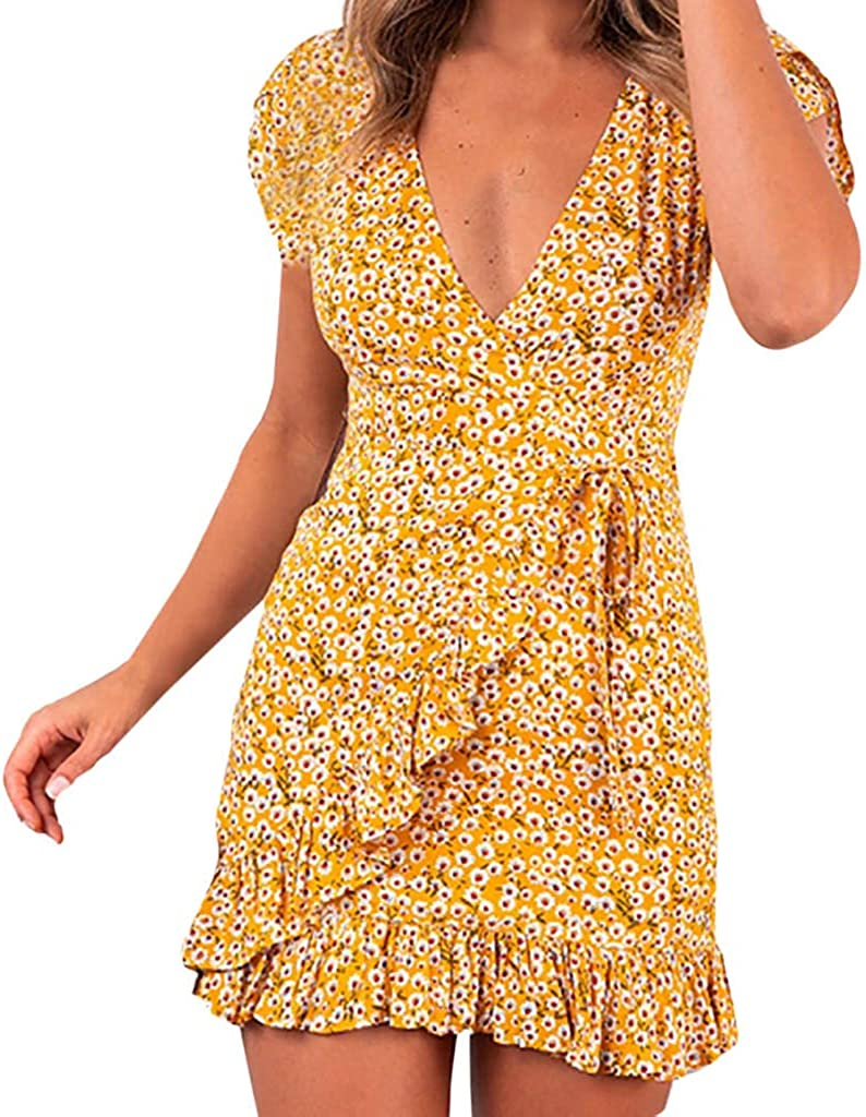 Transer- Ruffles Dress V...