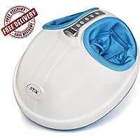 Stok St- Cfm01 Small Compact Electric Shiatsu Kneading Rolling Foot Massager