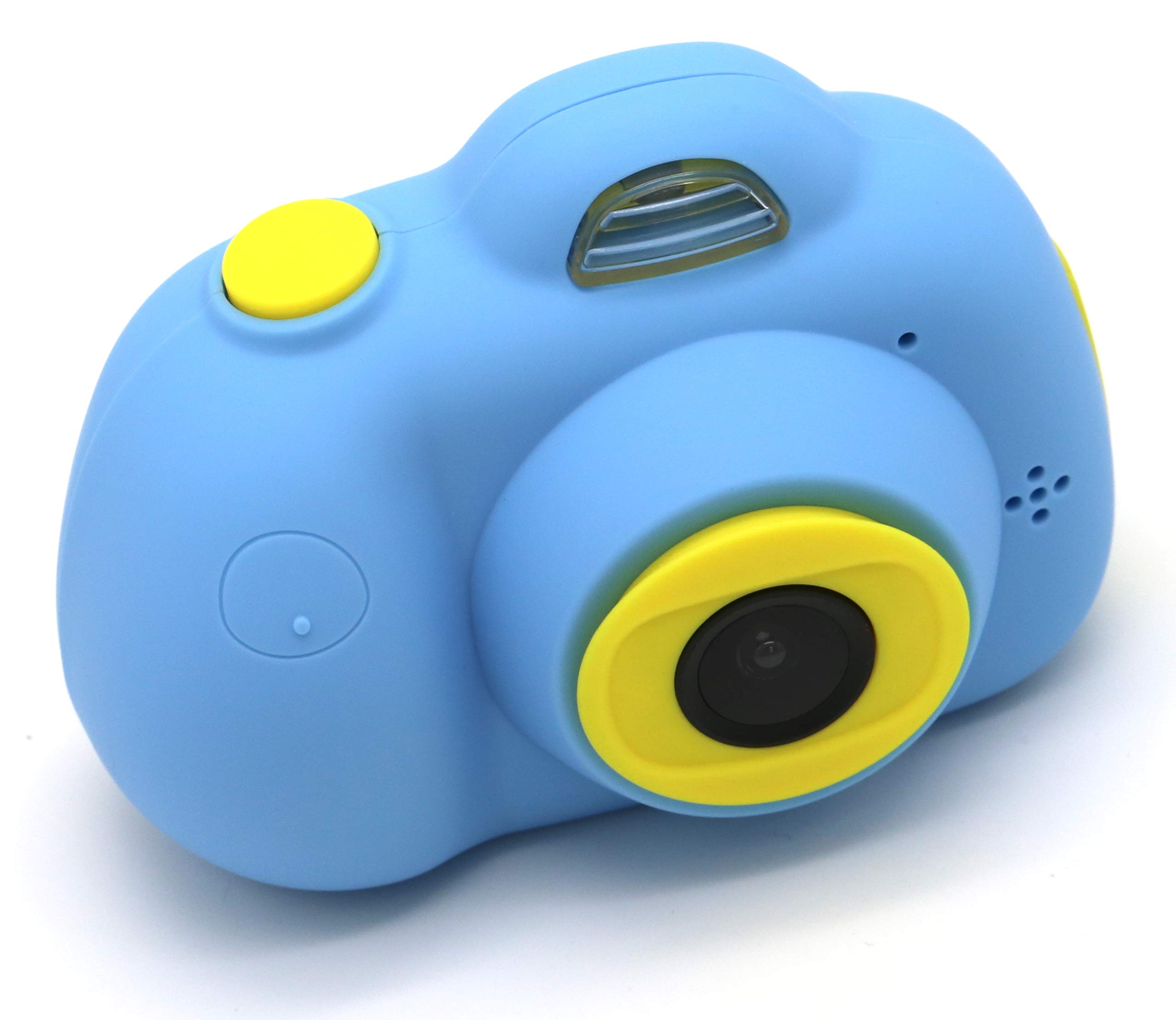 YOYOCOCO Camera for Kids,Film Camera Selfie Camera with Soft Silicone Shell for Outdoor Play,Kids Camera Toy Camera for 3-10 Year Old Girls and Boys(16GB TF Card Included)(Blue) by YOYOCOCO (Image #9)