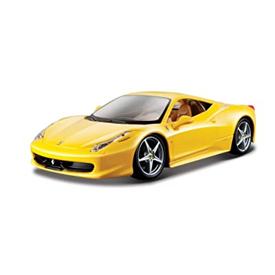 Bburago Ferrari Race and Play LaFerrari 1/24 Scale Diecast Model Vehicle Red: Toys & Games