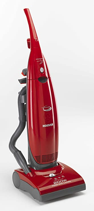 Hoover PurePower PU2111 Bagged Upright Vacuum Cleaner, 2100 Watt (Free Bags for 1 Year* Based on 1 Year's Average Use)