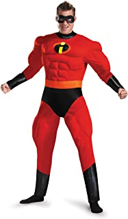 Disguise Mr. Incredible Deluxe Muscle Adult Costume  sc 1 st  Amazon.com & Amazon.com: Costume SuperCenter Violet Incredible KidsMulticoloured ...