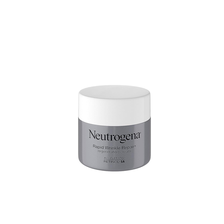 Neutrogena Rapid Wrinkle Repair Retinol antirughe crema viso rigenerante, giorno e notte uso, 48,2gram