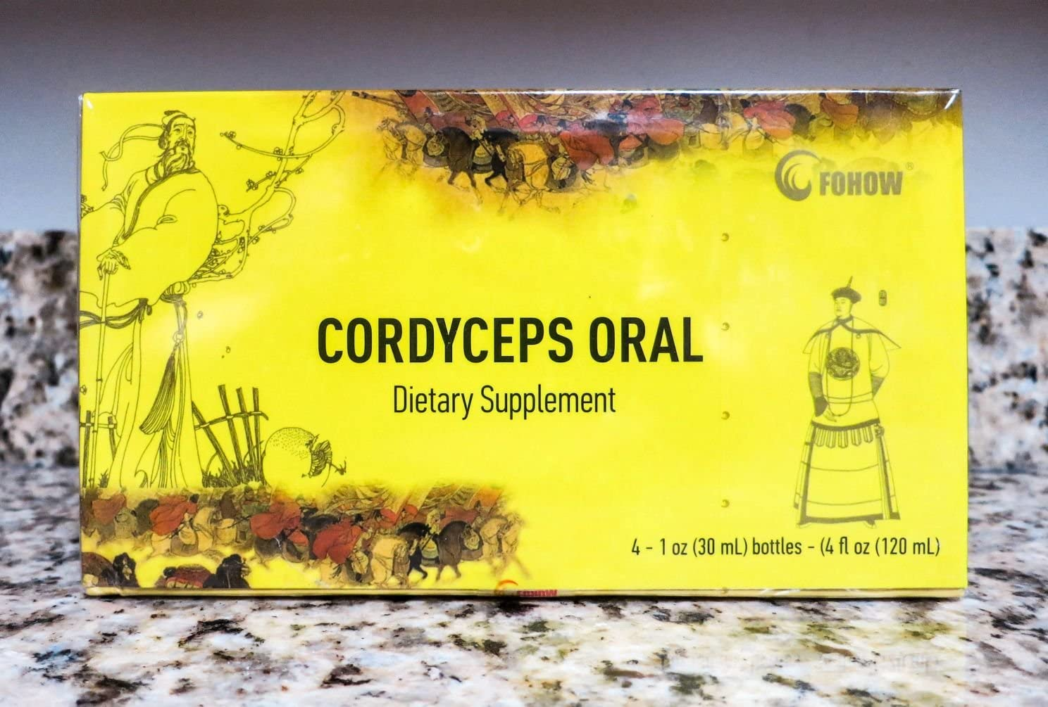 Fohow Cordyceps Dietary Supplement Fohow Phoenix Liquid