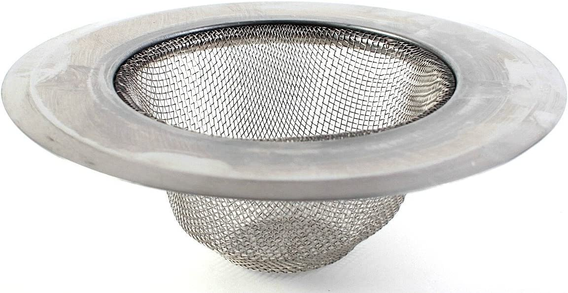 Discovery Stainless Steel Mesh Sink Strainer, 3-Pack