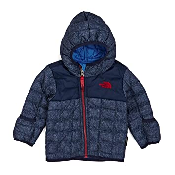 bf5bf3e34a North Face Kinder Infant Reversible Thermoball Hoodie Jacke,  Blau-Csmcbludenimprt, 3 Months