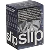 Slip Silk Midnight Large Scrunchie Set - Navy, Charcoal, Silver - Slipsilk Pure Mulberry 22 Momme Silk Hair Tie…