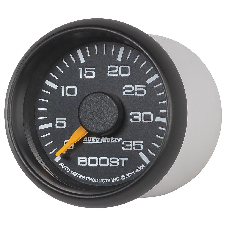 Auto Meter 8304 Chevy Factory Match Mechanical Boost Gauge