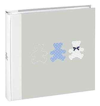 Ceanothe 271225/Timotee Fotoalbum Baby Traditionelles mit 60/Seiten Papier grau 30/x 30/cm