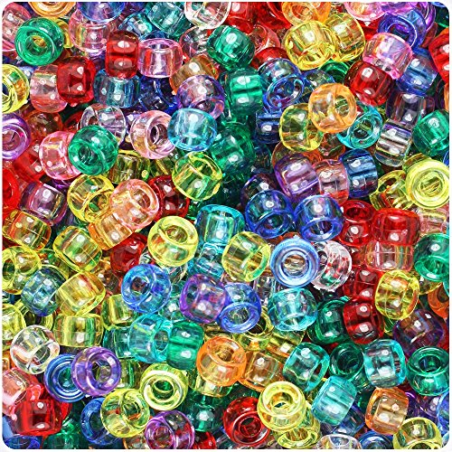 Mixed Pony Beads - 8