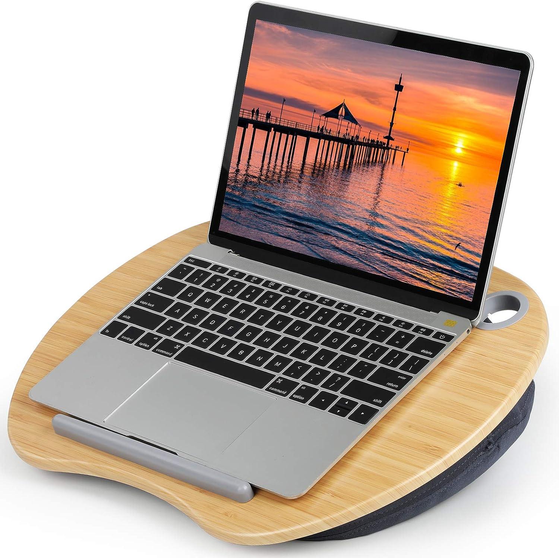ordinateur portable Surface PTN Support dordinateur portable ergonomique en aluminium pour bureau rehausseur r/églable avec ventilation de chaleur support de bureau compatible avec MacBook Pro//Air