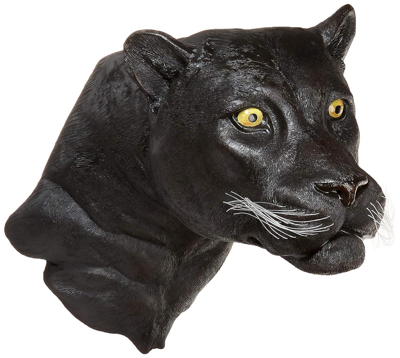 African Predator Leopard Sculpture Wildlife Display Trophy
