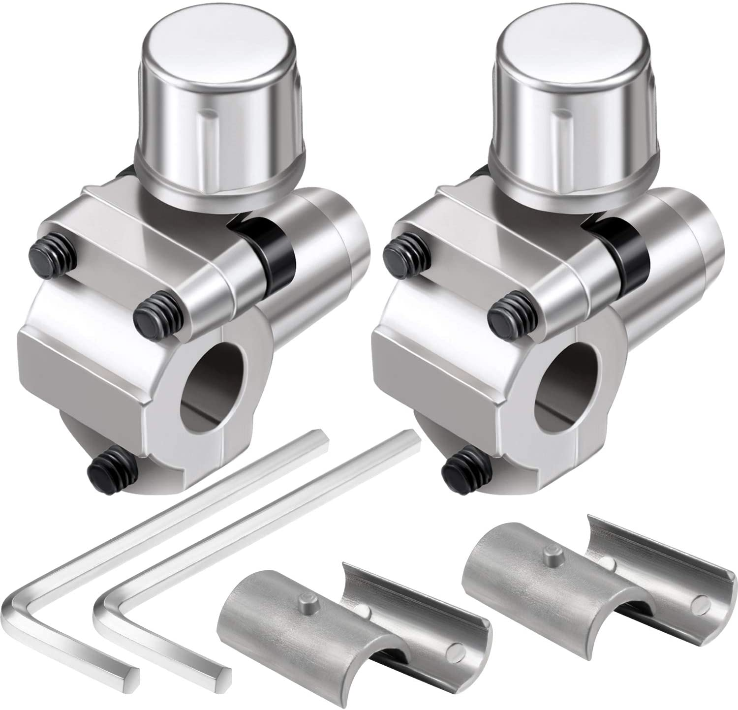 2 Pack BPV-31 Bullet Piercing Tap Valve Kits Compatible with 1/4 Inch, 5/16 Inch, 3/8 Inch Outside Diameter Pipes, Replace for AP4502525, BPV31D, GPV14, GPV31, GPV38, GPV56, MPV31