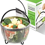 Instant Pot Accessories Steamer Basket 6 Quart - Premium Stainless Steel Basket Creates the Perfect Delicious Meal Every Time