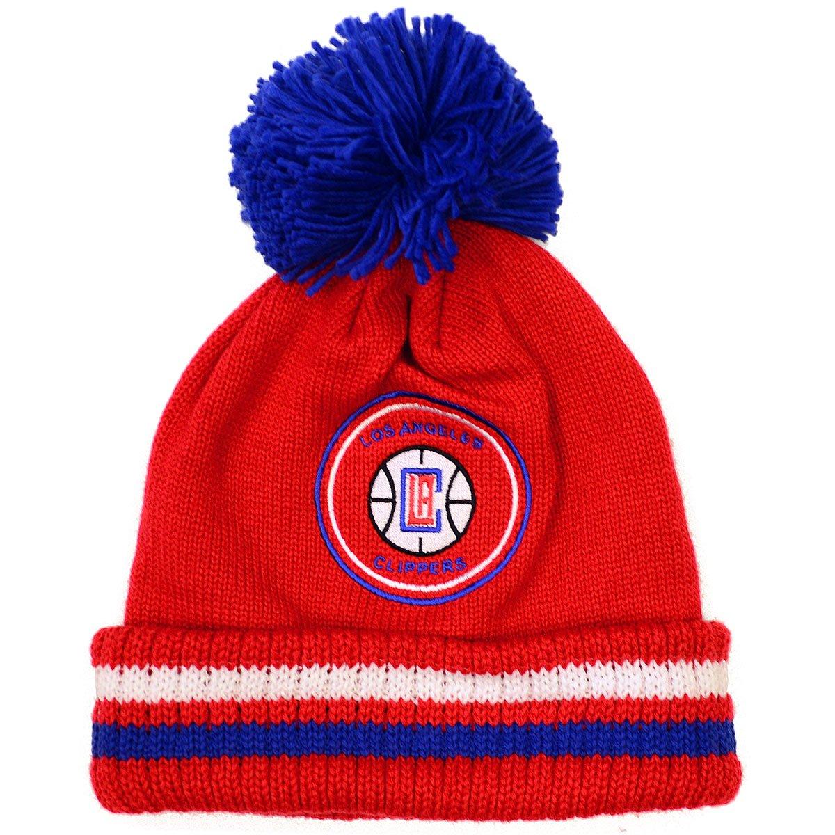 d335f954363 Amazon.com   NBA Mitchell and Ness Big Man Hi Five Knit Hat with Pom (OSFM