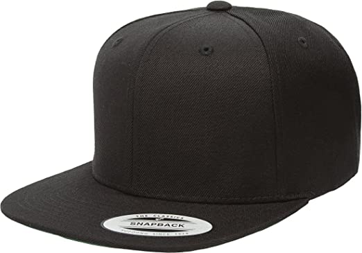 5723c3bd941368 Image Unavailable. Image not available for. Color: Yupoong Wool Blend  Prostyle Snapback Cap - Black ...