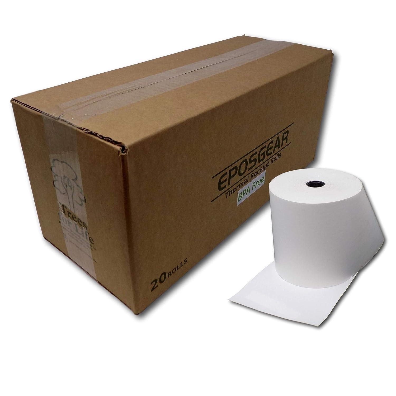 Eposgear 0702334135860 80 mm x 80 mm - Rollos de papel para caja ...