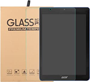"Acer Iconia one 7 B1-7A0 Tempered Glass Screen Protector,Bige HD Clear Scratch-Resistant 9H Hardness Film for 7"" Acer Iconia one 7 B1-7A0 Tablet."