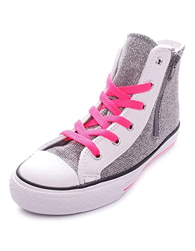 45dd05286d2a62 Converse All Star Ct Side Zip Hi Youth Junior Girls Fashion Sneaker Shoes  (4 M