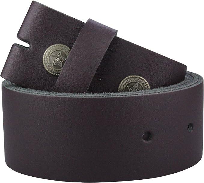 Echt Ledergürtel Wechselgürtel Gürtel Damen Herren leather belt Made in Germany
