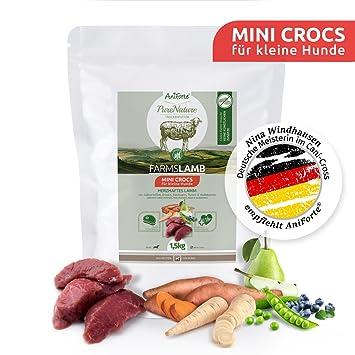 NUEVO aniforte 100% Natural trockenfutter Natural de perros Forro getreidefrei Farm slamb 1,5