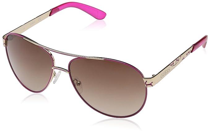 GUESS GF0282, Gafas de Sol para Mujer, Dorado (Rosa/Oro), 61: Amazon.es: Ropa y accesorios