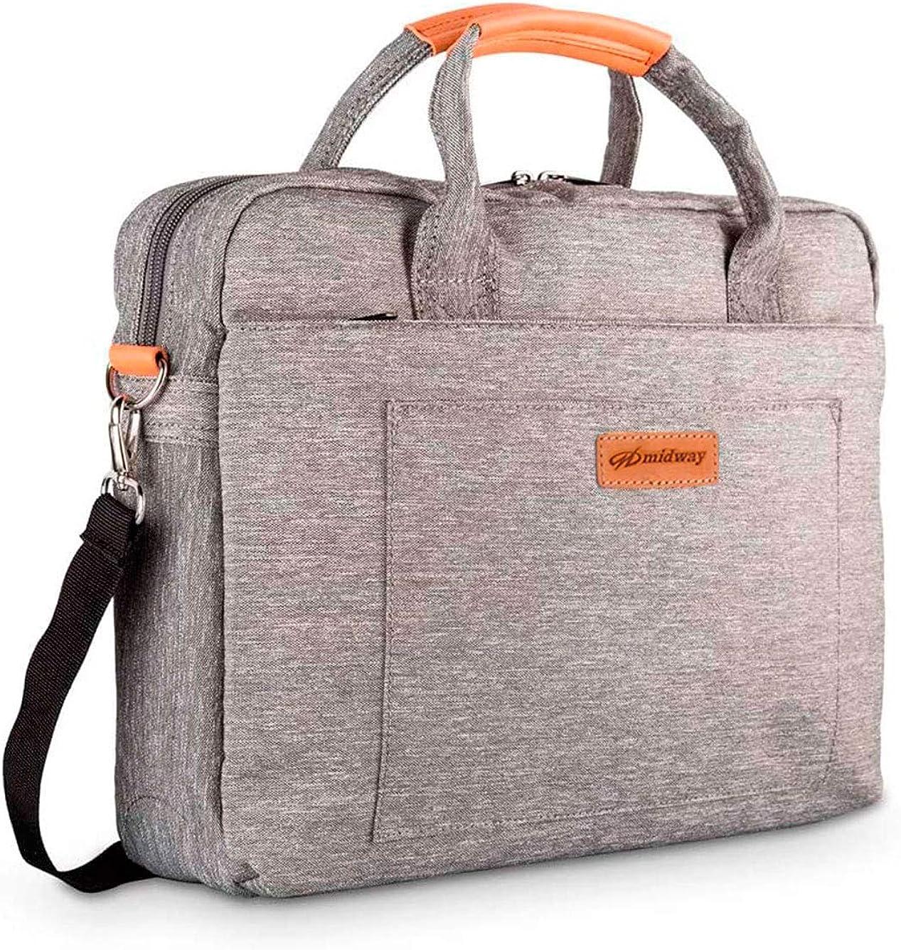 Slim Laptop Briefcase 15.6 Inch Office College Shoulder Bag for Acer Aspire 1, Aspire 5, Aspire 7, Swift 5, Nitro 5, ConceptD 7, Chromebook 315 715, Predator