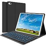 iPad Mini Keyboard Case - Boriyuan 7 Colors Backlit Detachable Keyboard Slim Leather Folio Smart Cover for Apple iPad…