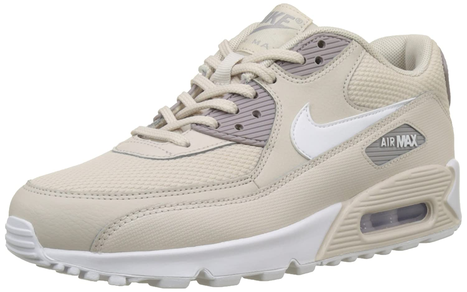 los angeles ff3e2 67edd Amazon.com   Nike Women s WMNS Air Max 90, Desert Sand White-Atmosphere  Grey, 7.5 US   Road Running