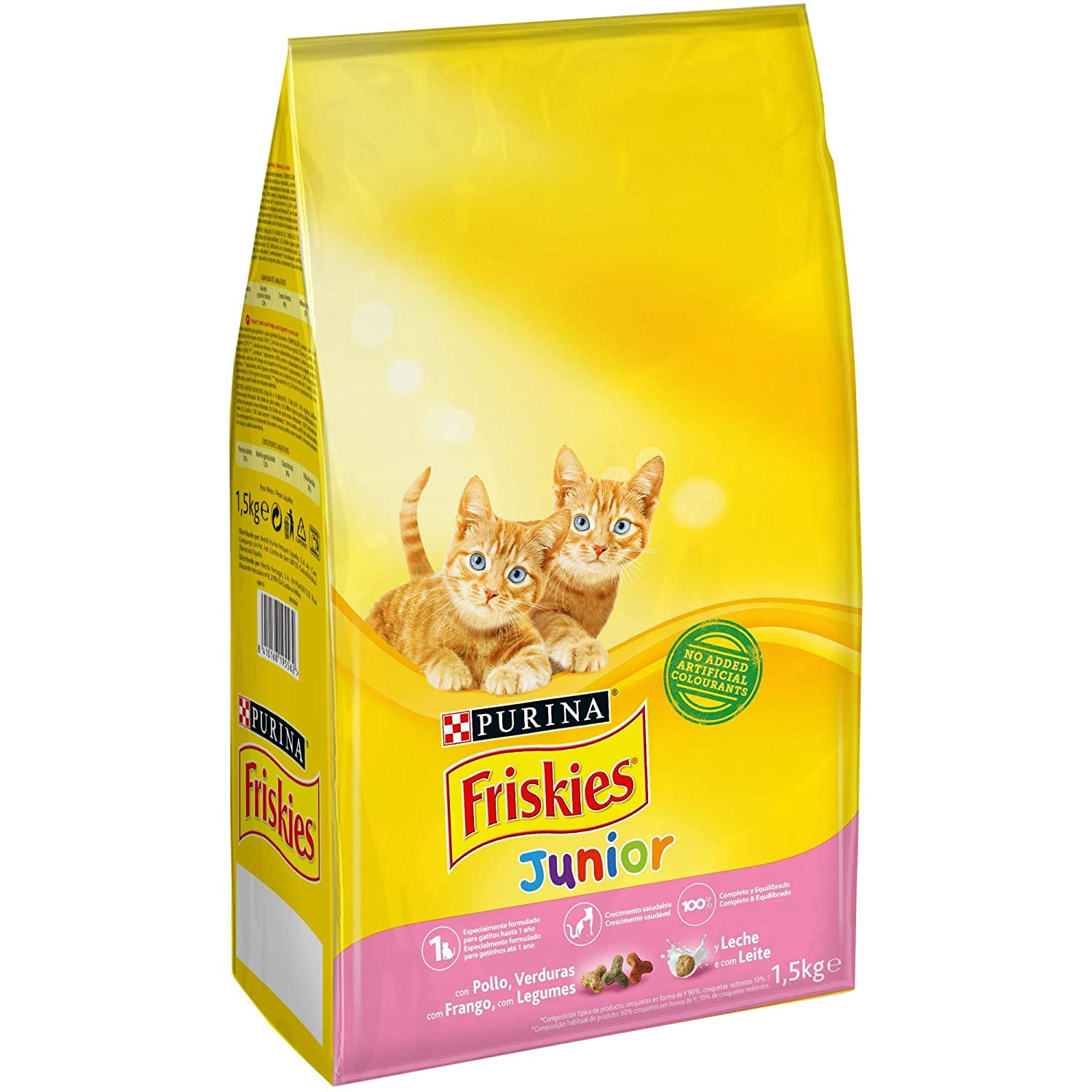 Purina Friskies Junior Pienso para Gato hasta 1 año 1,5 Kg: Amazon.es: Amazon Pantry