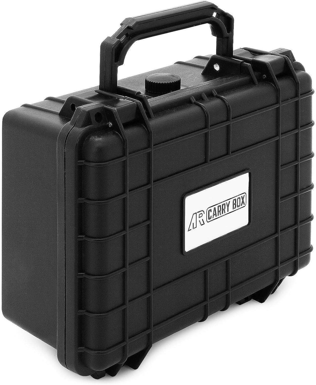 AR CARRY BOX Outdoor maleta Schutzkoffer Kunststoff-Koffer negro Würfelschaum polvo & estanco