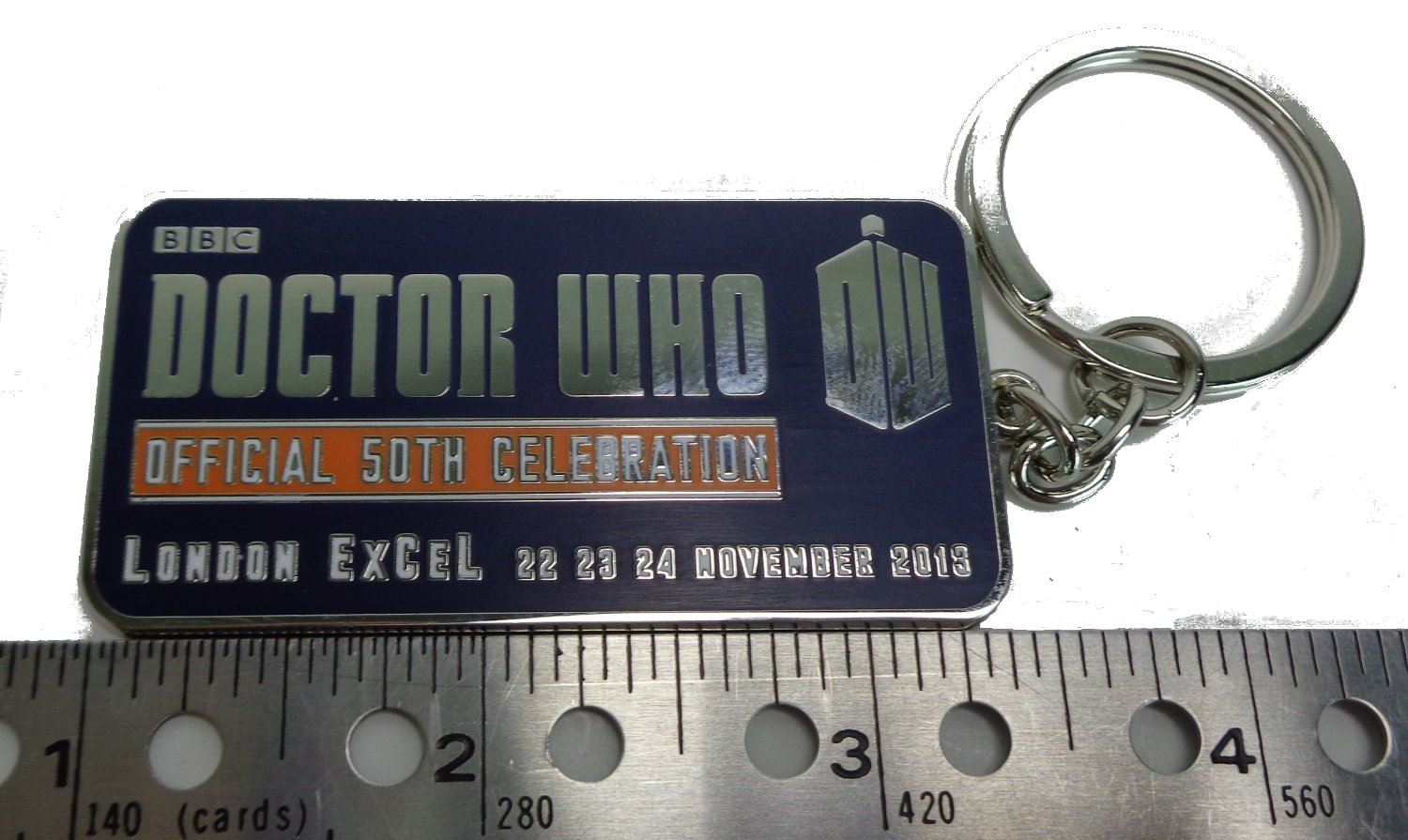 Amazon.com: Doctor Who 50th Anniversary Londres Excel metal ...