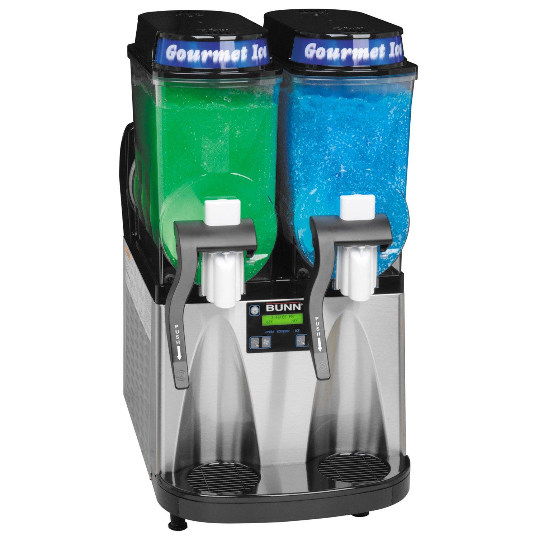 BUNN 34000 2 Hoppers Ultra Frozen Beverage System, Black/Stainless Steel