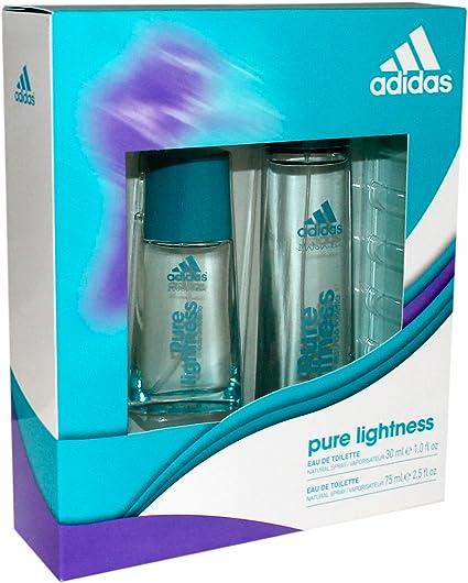 Adidas - Estuche con 2 eau de toilette Pure Lightness 75 y 30 ml: Amazon.es: Belleza