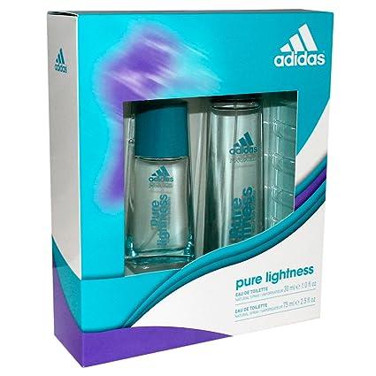 Adidas - Estuche con 2 eau de toilette Pure Lightness 75 y ...