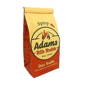 Spicy Adams Rib Rubb BBQ Rub BBQ Seasoning