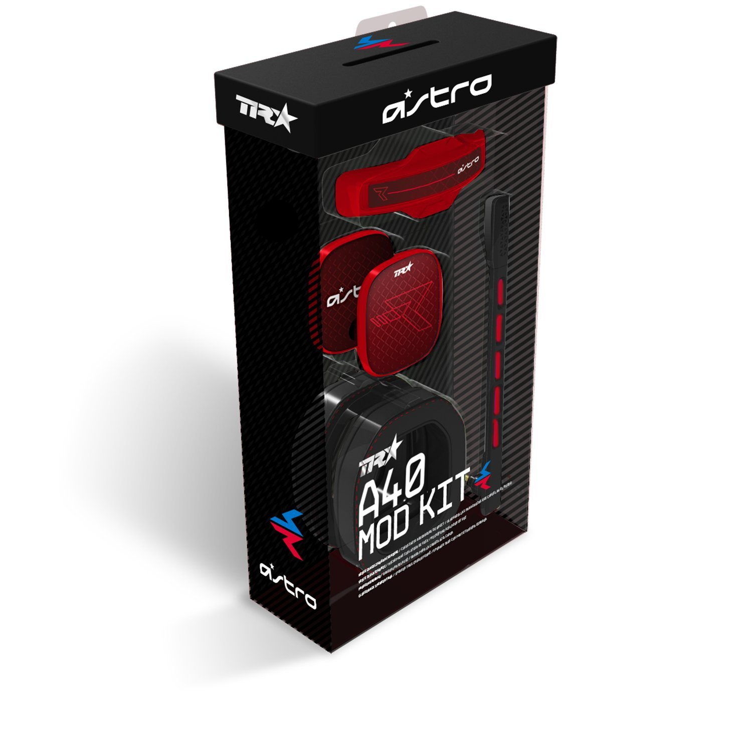 ASTRO Gaming A40 TR Mod Kit, Noise Cancelling Conversion Kit - Red by ASTRO Gaming