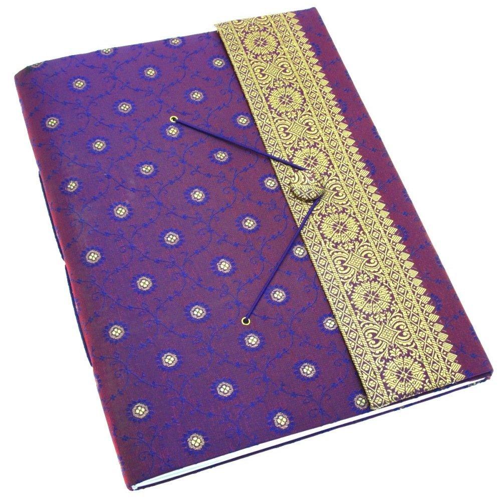 Paper High Sari Photo Album Extra Large 260 x 350mm Purple