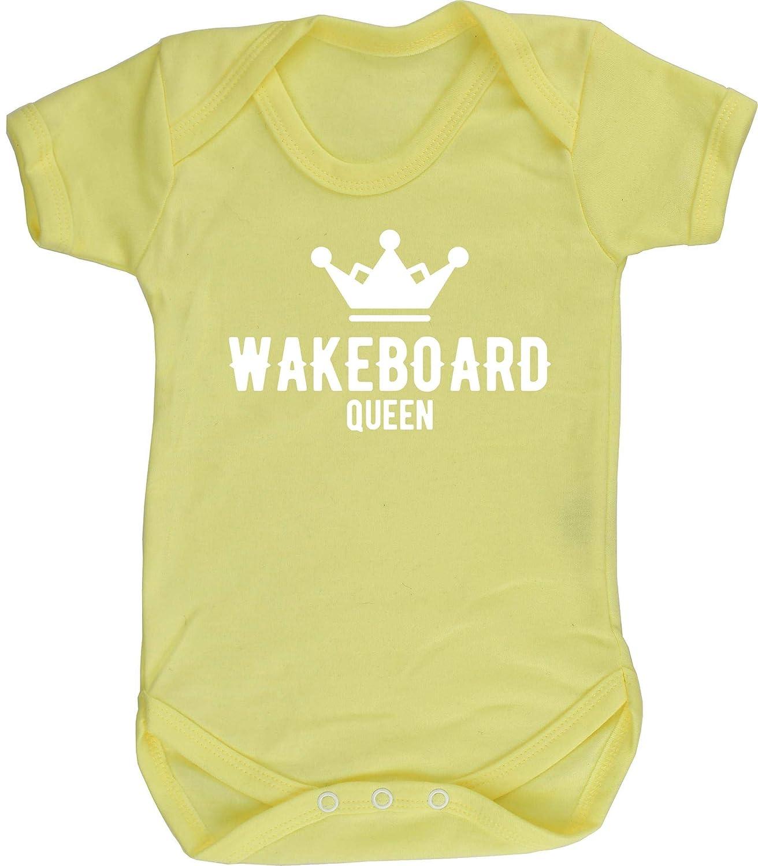 HippoWarehouse Wakeboard Queen Chaleco para beb/és Pijama de Manga Corta para ni/ños Unisex