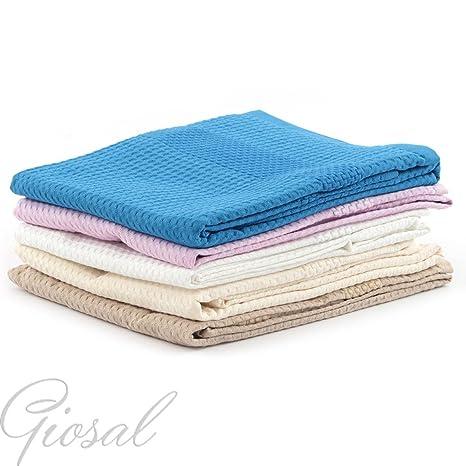 Toallas toalla Gabel Golf Esponja Hombre Mujer Tinta Unita Nido de abeja GIOSAL: Amazon.es: Hogar