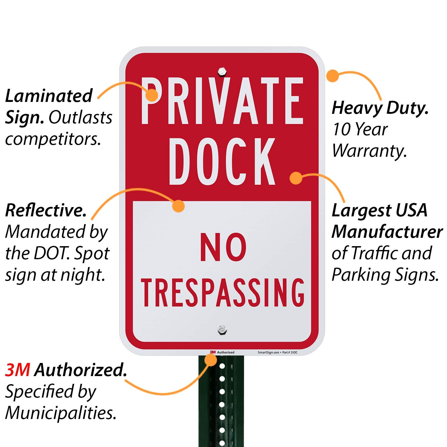 Tin Sign Fashion Decorative Sign No Mooring Private Dock Activity Sign Park Sign Marina Metal Aluminum Sign Wall Plaque for Indoor Outdoor 7.8x11.8 inch