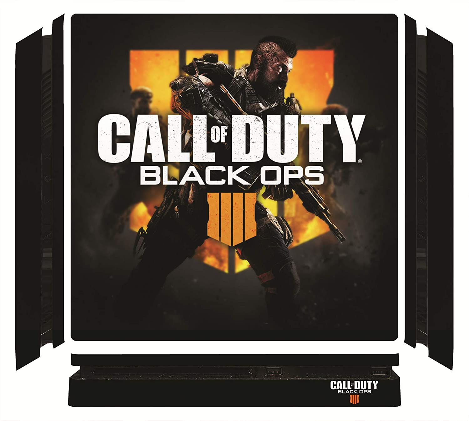 Call of Duty: Black Ops 4 IV BOPS4 BLOPS4 Game Skin for Sony Playstation 4 Slim - PS4 Slim Console - 100% Satisfaction Guarantee!