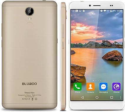 Bluboo.Maya.Max - 32Gb Smartphone Libre Android 6.0 (4G, Lte, Pantalla 6.0\